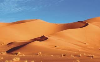 Пустыня сахара где находится на карте